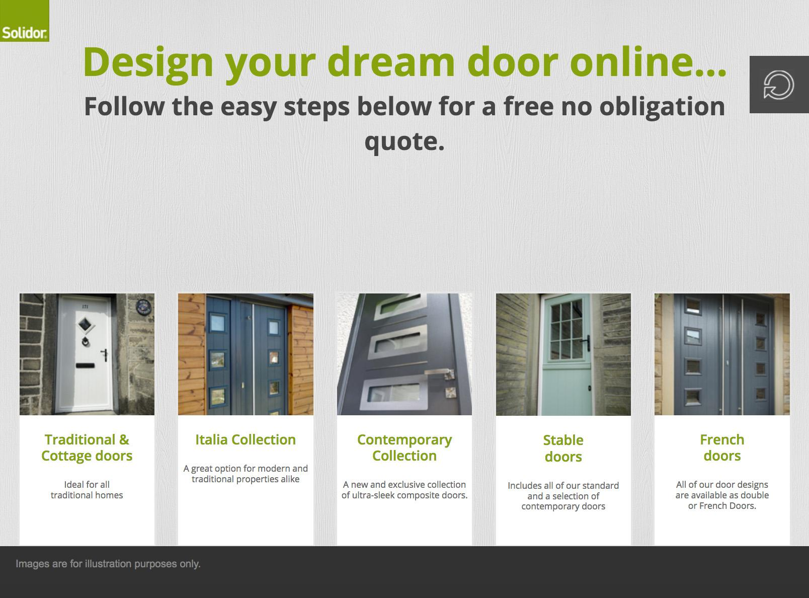 Heath Doors Designer graphic