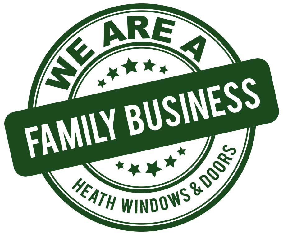 Heath Windows and Doors Family Business Stamp