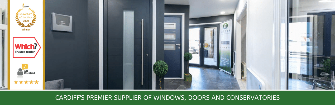 Heath Windows and Doors Cardiff Showroom