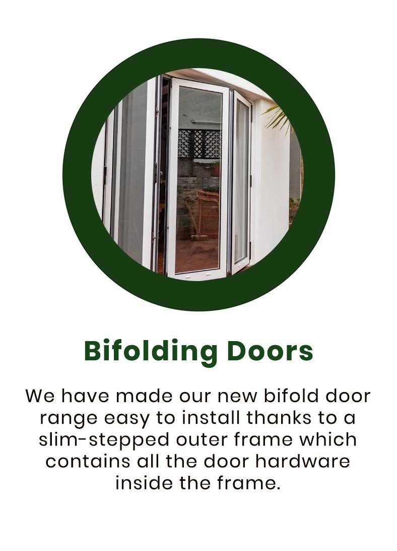 heath type bifolding doors