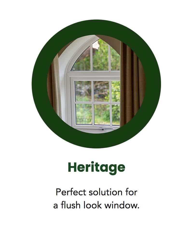 heath windows heritage
